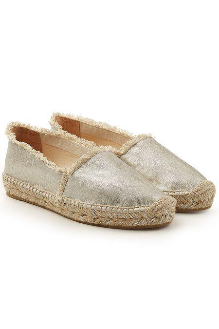 CASTAÑER   Kito Metallic Espadrilles #Shoes #CASTAÑER