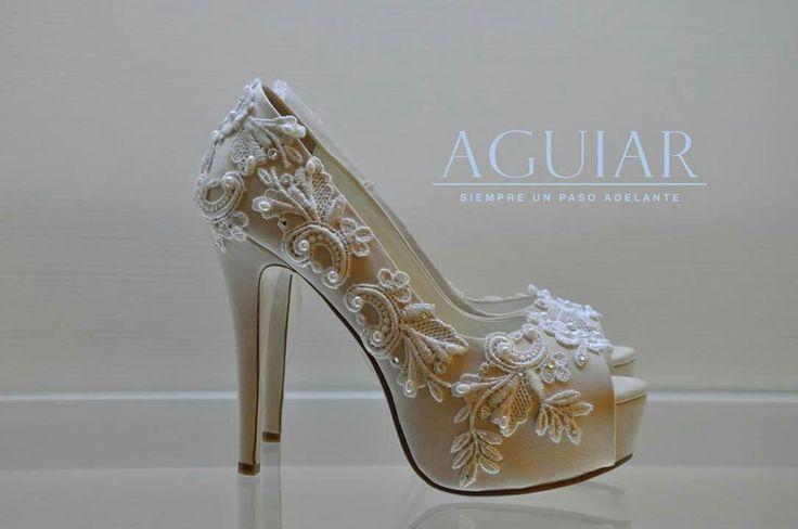 Zapato de novia Ivory bye Aguiar