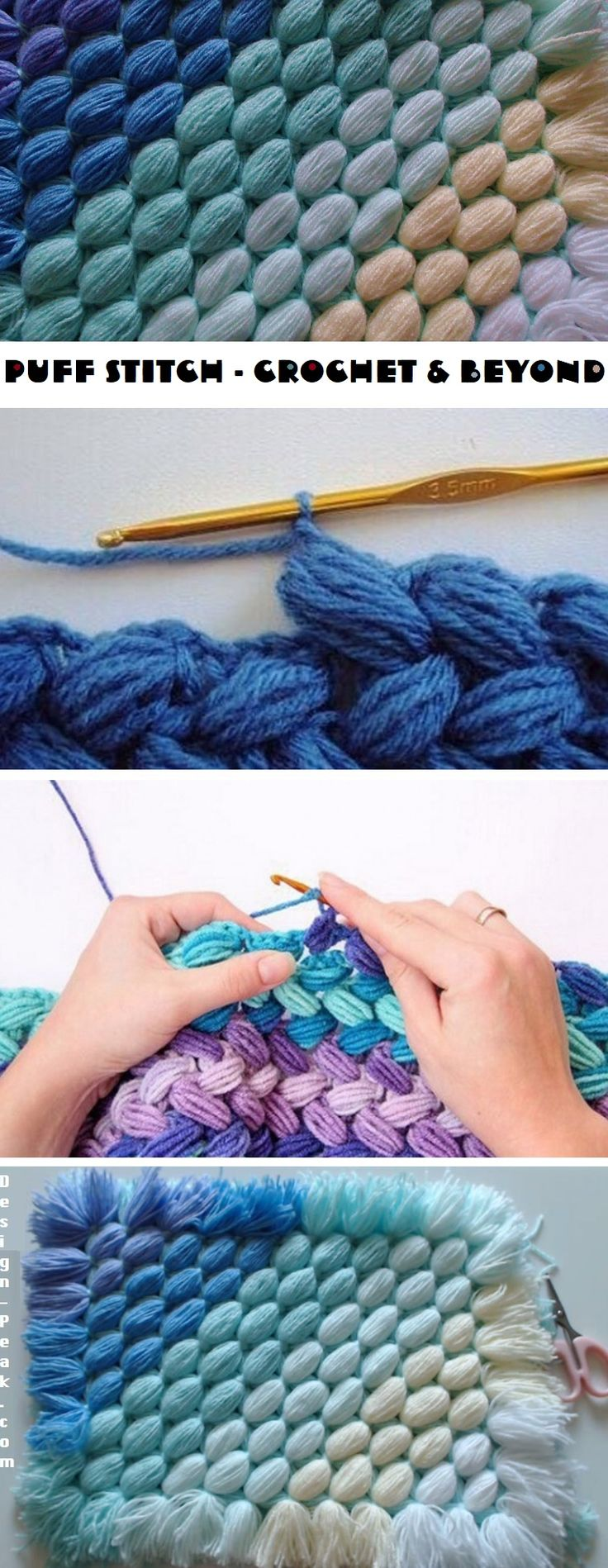 Puff Stitch – Crochet