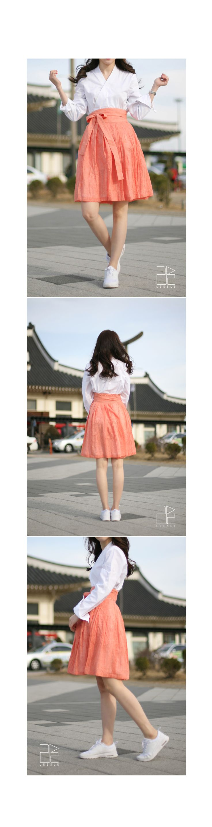 casual hanbok, life style Korean clothes from LEESLE of sonjjang
