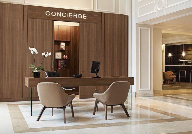 Le Meridien Brussels—Concierge Desk by LeMeridien Hotels and Resorts, via Flickr
