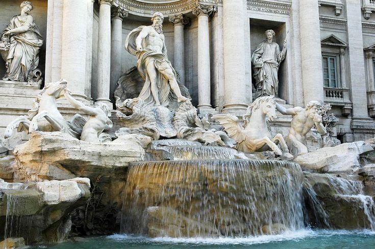 Fontaine de Trevi (lecture)