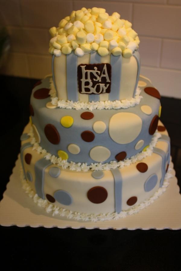 Ready to pop cake!