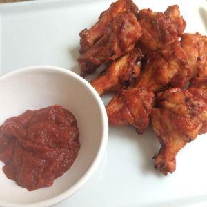 Coxinhas de frango no estilo Buffalo Wings