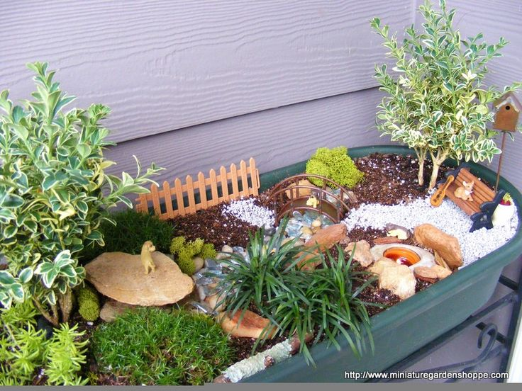 Best Whimsical Fairy Gardens Images On Pinterest Fairies