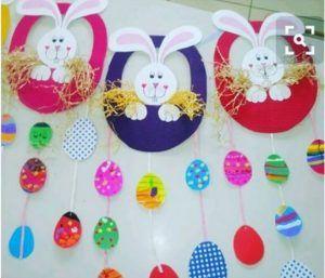 Easter bunny craft idea for kids | Crafts and Worksheets for Preschool,Toddler and Kindergarten