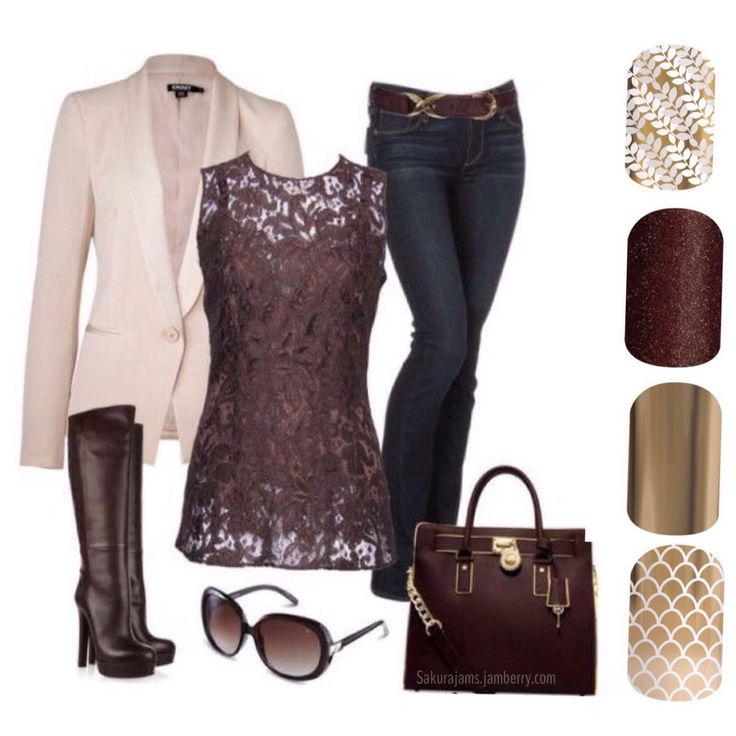 Fall fashion 2016 Jamberry pairings. Just love this outfit and the wraps are so gorgeous. nails, manicure fb.me/sakurajams