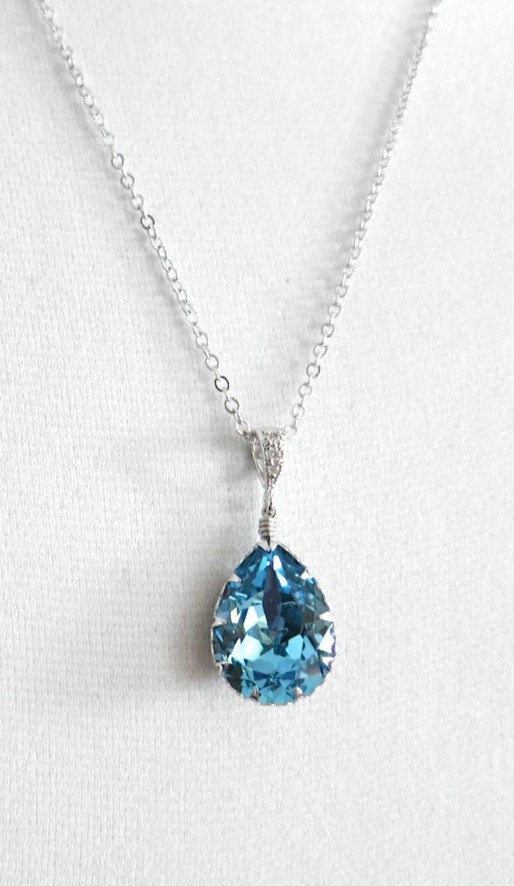 Sammy Crystal Teardrop Necklace. :-0 love it !!