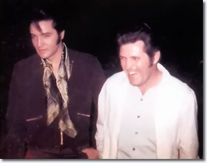 Elvis met Charlie Hodge while at Fort Hood for basic training. After his stint in the army, Charlie came to work for Elvis as a member of the Memphis Mafia. He also had bit parts in some of Elvis' movies, and starting in 1969, he was a guitarist, back up vocalist, and stage manager for Elvis. He was also the only friend that lived at Graceland for the entirety of their friendship.