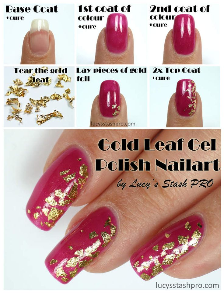 14 best gel polish nail art by lucys stash pro images on my golden leaf gel polish nails for a wedding tutorial httplucysstashpro prinsesfo Gallery