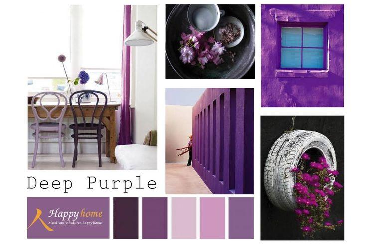 kleur inspiratie - paars