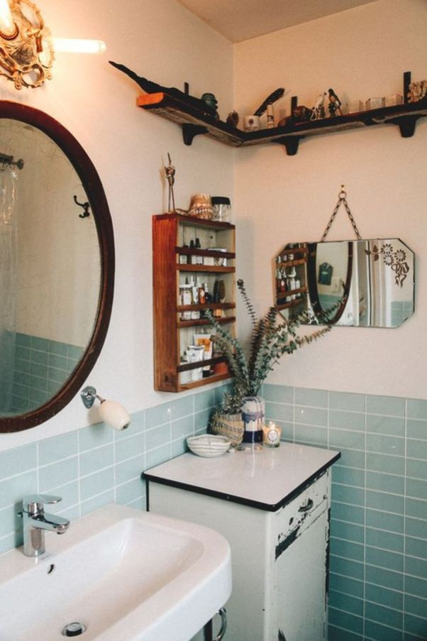 Apartment Aesthetic Decor On A Budget Small Bathroom Decor Cute Bathroom Ideas Vintage Bathrooms