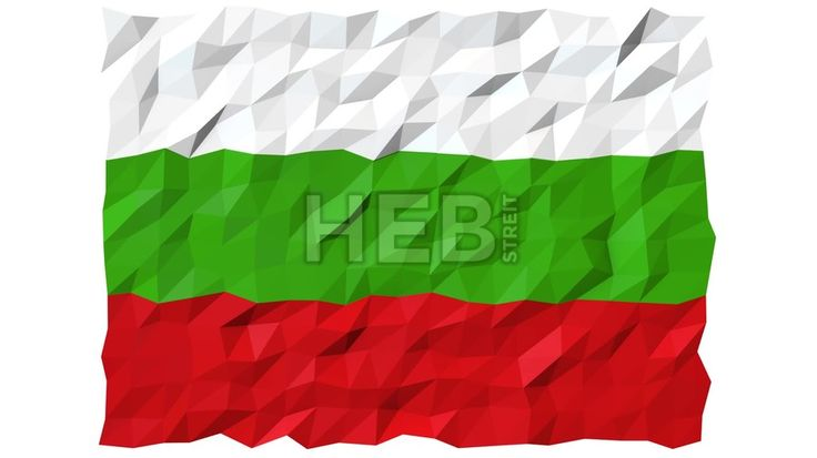 Flag of Bulgaria 3D Wallpaper Animation, National Symbol, Seamless Looping Footage... ... by #Hebstreit