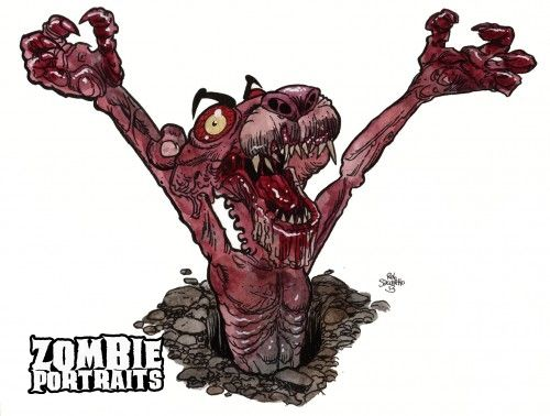 pink panther zombie