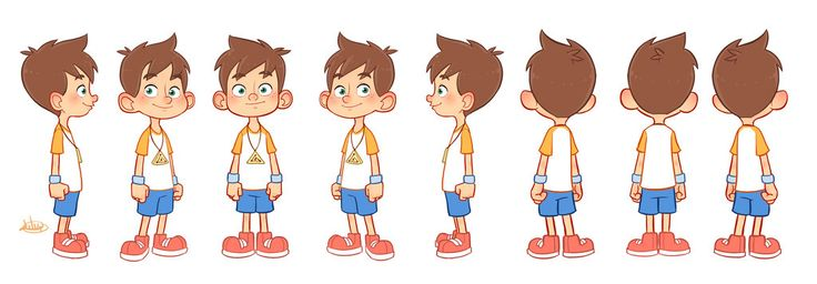 Little Leo Turn Around Color by LuigiL.deviantart.com on @deviantART