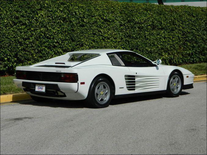 43 Awesome Ferrari Testarossa White Carenthusias Ferrari Testarossa Ferrari Car Ferrari
