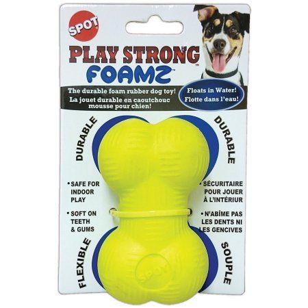 Spot Play Strong Foamz Bone 3 5 Inch Dog Toy In 2019 Dog Toys
