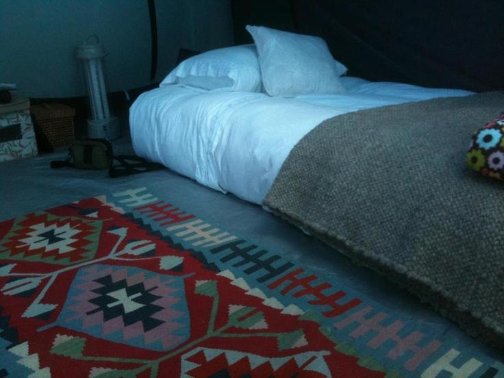 Instalaciones para la hora de dormir en el Centro de Arte Curaumilla.