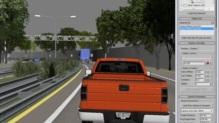 Civil view in 3dsmax 024 Inserimento Fotocamera