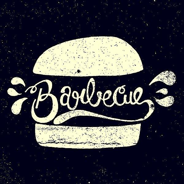 Barbecue - Abduzeedo -- #GraphicDesign #Typography