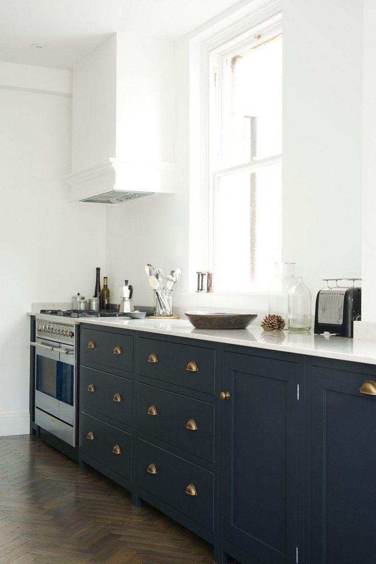 cuisine bleu gris canard ou bleu marine code couleur et id es de d co d coration. Black Bedroom Furniture Sets. Home Design Ideas