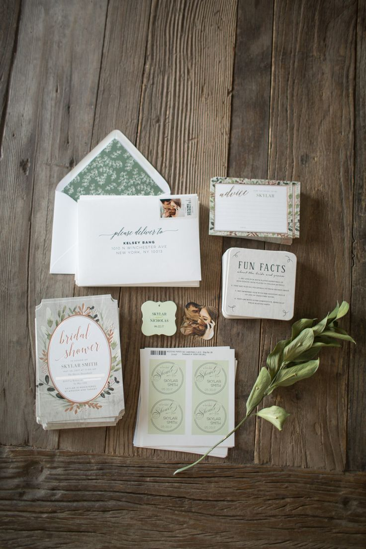 bridal shower invitations registry etiquette%0A Need help getting your Bridal Shower party rolling   Start with a fabulous  invite to