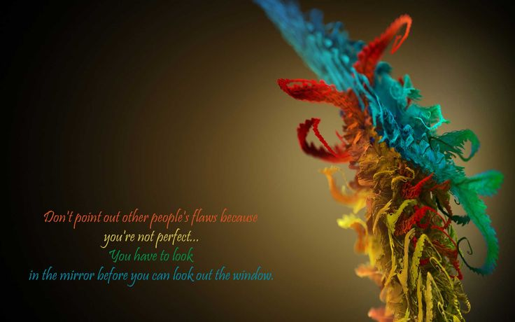 look in the mirror quotes | Don't point out other people's flaws » Quotes » Its Me : Khyati