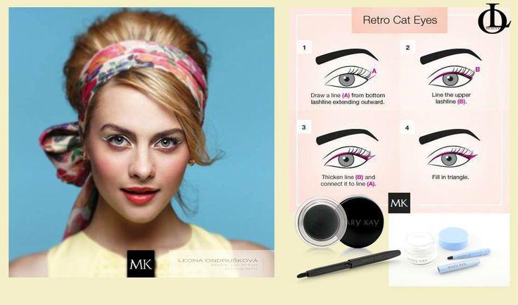Gélové očné linky v čiernej aj bielej farbe