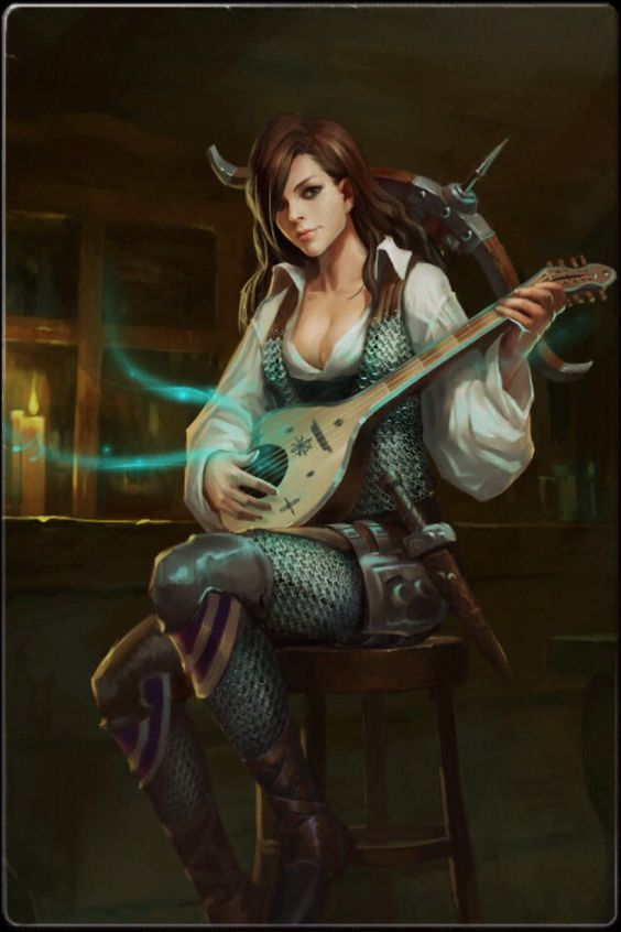 RPG Female Character Portraits : Photo: