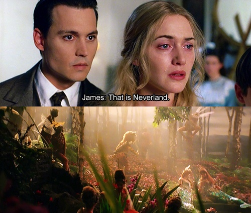 Seriously, favorite movie of my life. Finding Neverland<3