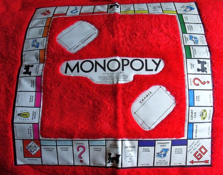 Vintage Fur 1960s 1970s Monopoly Game Rug Board Itemation Plush Game Rare  #ItemationInc