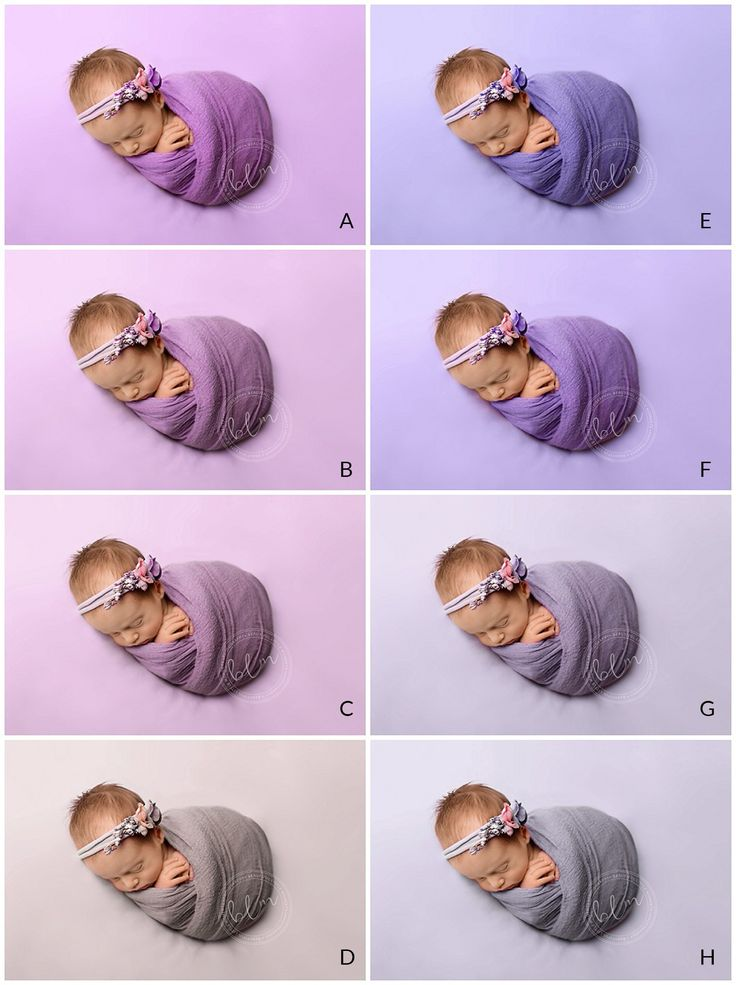 favourite colours for newborn photography