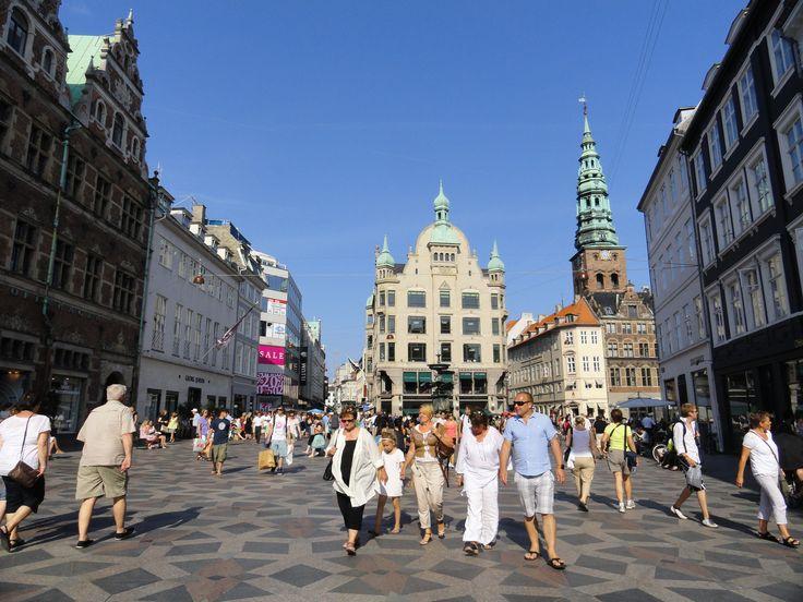 Stroget, la calle peatonal más larga de #Europa