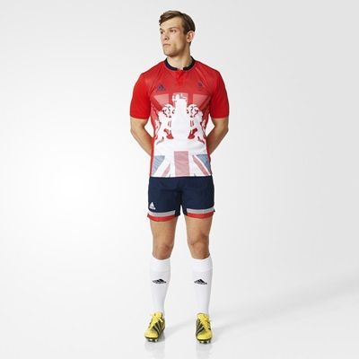 Team GB Rugby 1st Jersey - Mens - Red