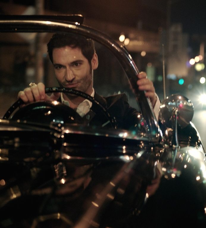 """Are you trying to bribe me, sir? Luicfer: """"Of course. is that not enough? Take more!"""" #Lucifer"""