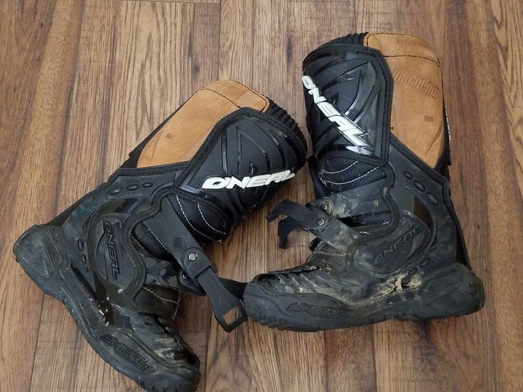 KIDS ONEAL MOTOCROSS DIRT BIKE RACING RIDING BOOTS - SIZE 12 #ONEAL