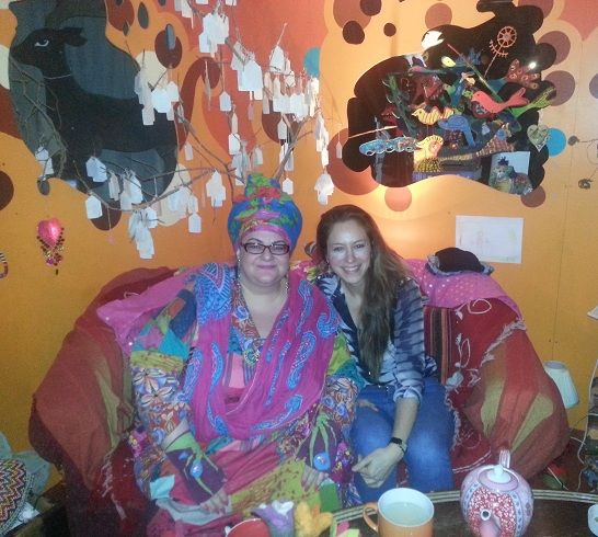 Jodhi May and Camila Batmanghelidjh at Kids Company for The New Idealist Interview  http://theintelligentreview.com/jodhi-may-camila-batmanghelidjh/ A Conversation with Jodhi May and Camila Batmanghelidjh CBE April 11, 2014