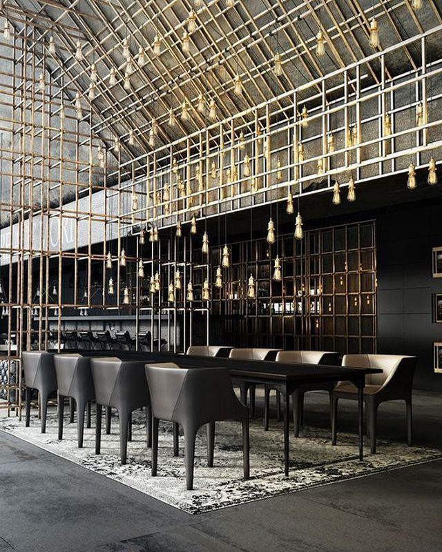 Restaurant Aut vincere aut mori, projeto de Daniel Nagaets.