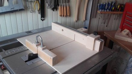 The Best combined sled for Table Saw/Improved