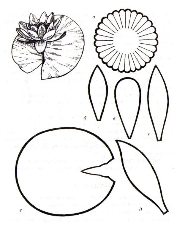 осенние цветы из цветной бумаги своими руками схемы шаблоны качества