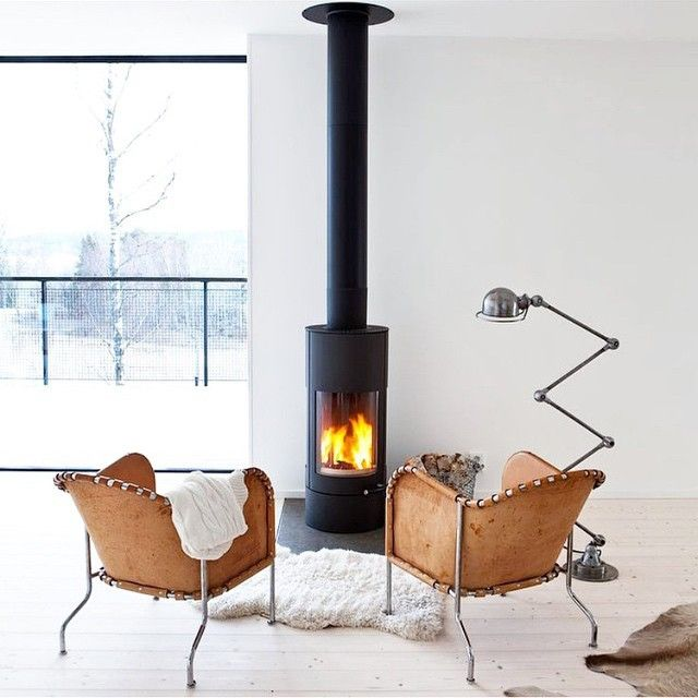 """Downtime by the fire... #regramlove @1stdibs #modern #holiday #fireplace #cozy"""