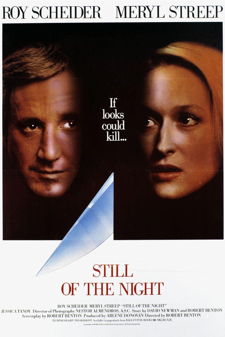 Still of the Night (1982) Stars: Roy Scheider, Meryl Streep, Jessica Tandy, Joe Grifasi, Josef Sommer ~ Director: Robert Benton