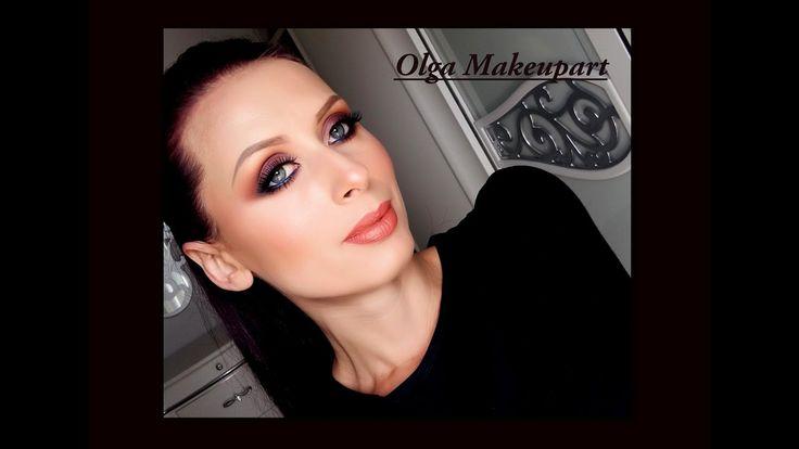 Makeup tutorial trucco Smoky veloce e elegante con i toni violaci