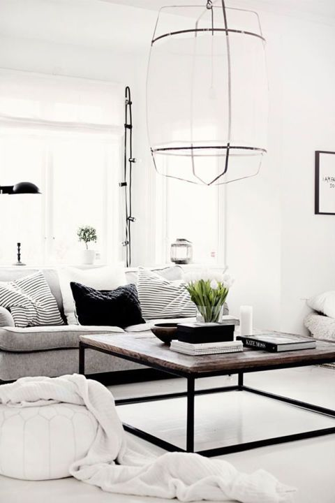 20 all black and white interior ideas for the minimalist's home decor inspiration:
