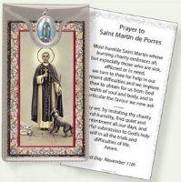 Prayer Card to St.Martin De Porres.