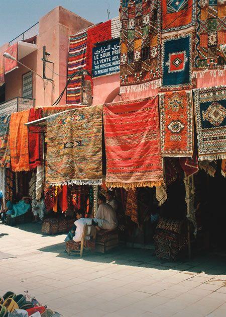 Carpet Sellers - Marrakech, Morroco