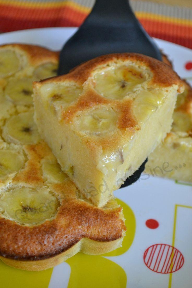 S'il vous reste deux bananes trop mûres dont plus personne ne veut, ne cherchez plus, j'ai la recette qu'il vous faut! Déniché chez Hélène, ce gâteau hyper fondant a ravi toute la famille. Pour un moule à manqué de 22 cm (mon moule fleur Tupperware ici):...