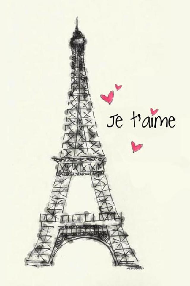Cute Paris wallpaper | Paris je t'aime | Pinterest ...
