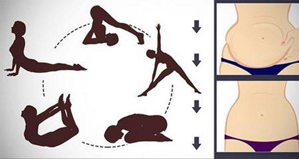 Conoce las mejores 5 poses de yoga que te ayudarán a reducir la grasa del vientre mientras consigues mejorar el estado físico y anímico. Estas posturas