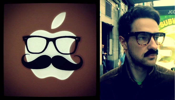 Mr. Mac | www.macstickrs.com #macbook #apple #geek #geeky #nerd